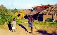 Kit solare per fornire energia alle capanne africane