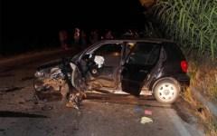 Scontro frontale a Cambiano, feriti