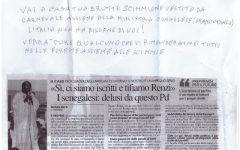 Offese razziste ai senegalesi di Livorno e alla Kyenge