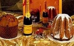 Natale, boom di spumante e panettoni sulle tavole straniere