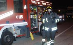 Lucca, incendio alla centrale Enel: forte boato a Ponte a Moriano