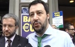 Lega Nord a Firenze: «Basta Euro» (VIDEO)
