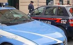 Ladri in fuga finiscono nelle mani di polizia e carabinieri