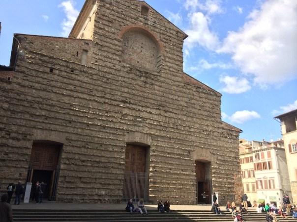 La basilica di San Lorenzo, a Firenze