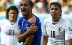 Mondiali 2014, fallimento Italia. Vince l'Uruguay, con un gol di Godin e l'aiuto dell'arbitro: 1-0. Pagelle