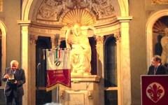 Firenze, premio Filo d'Argento: ovazioni per il cardinale Piovanelli e per l'ex campione Baldini