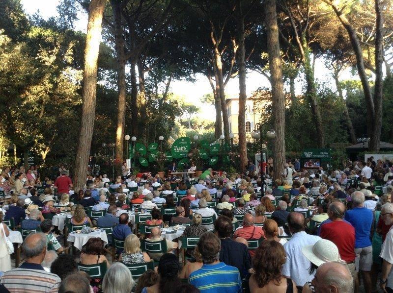 Il parco del Caffè della Versiliana