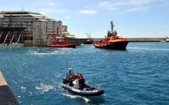 Concordia, missione compiuta. Il grazie di Renzi: «L'Italia vince le sfide, a Piombino le navi militari»