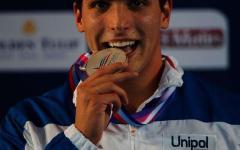 Europei di nuoto: Paltrinieri oro (e record) nei 1500 sl; bronzo al livornese Gabriele Detti