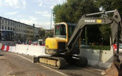 Firenze, tramvia: ribaltamento del cantiere in via Guasti, giovedì 23 luglio
