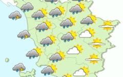 Toscana, allerta meteo: previsti temporali fino a sabato