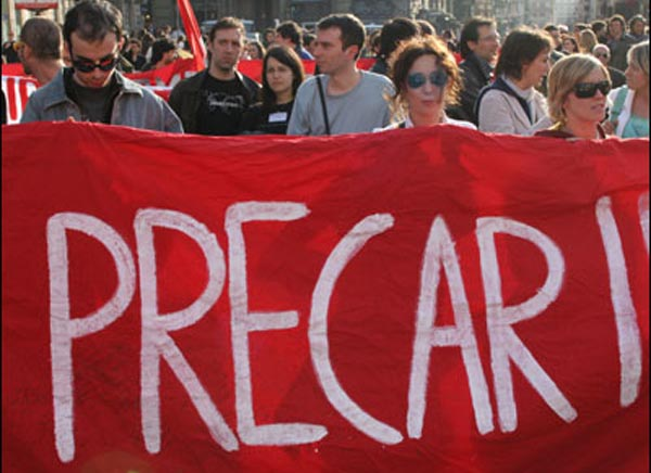 Manifestazione precari scuola