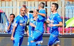 Empoli, cin cin per la prima vittoria: 3-0 al Palermo. Gol di Maccarone, Tonelli, Pucciarelli. Pagelle