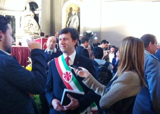 Il sindaco Dario Nardella