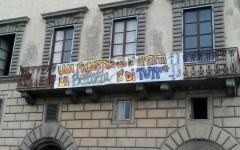 Pisa: gli antagonisti occupano simbolicamente Palazzo Boyl