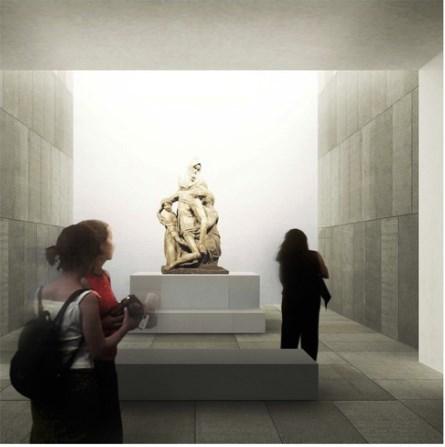 Nuovo Museo dell'Opera del Duomo, così sarà la sala della Pietà