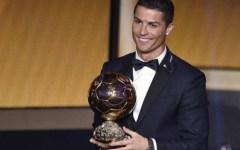 Calcio: Cristiano Ronaldo vince il terzo Pallone d'oro