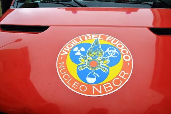 Sul posto intervennero le squadre Nbcr dei Vigili del Fuoco