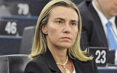 Vertice Nato a Firenze, Mogherini: «No ad azioni militari comuni in Siria da parte dell'Unione europea»