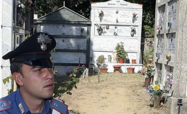 Arezzo, ossa ignote al cimitero. scatta l'indagine del Ris