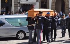 L'addio dei fiorentini al procuratore Tindari Baglione nella camera ardente in san Lorenzo