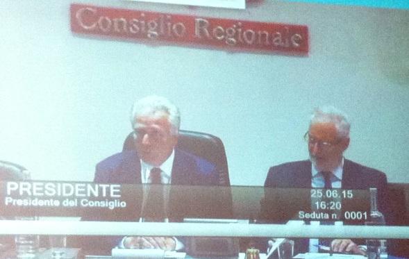 Eugenio Giani, neo presidente del Consiglio regionale della Toscana