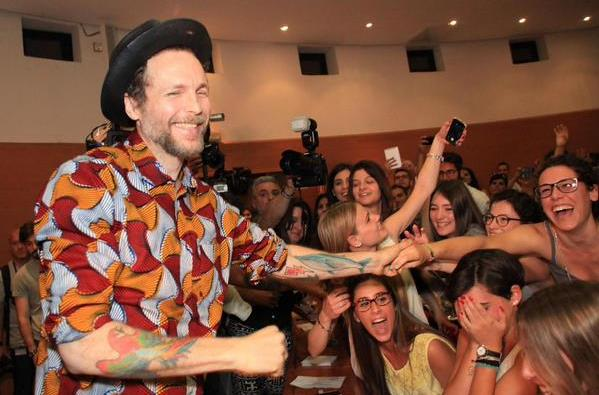 Firenze, Lorenzo Jovanotti all'Università
