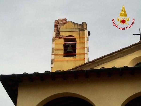Il campanile della Chiesa della Madonna della Ferruzza