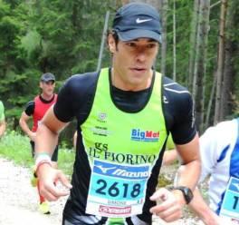 Simone Scalella, fiorentino, partecipa alla Ironman Austria 2015 (foto da suo profilo Facebook)