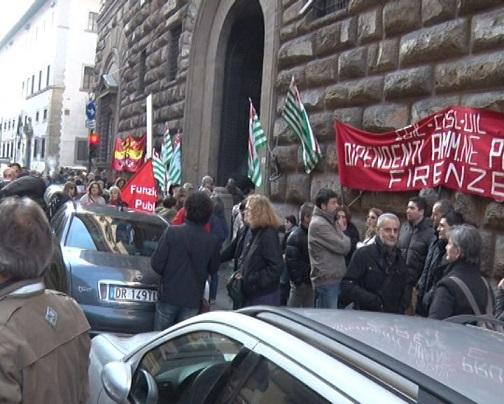 manifestazione dipendenti province