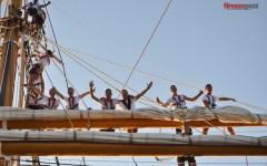 Accademia Navale, nasce il Corso «Mizar» tra le vele della Nave Scuola Palinuro (Video-Foto)