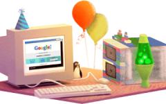 Google festeggia 17 anni con un nuovo doodle