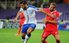 Euro 2016, Italia batte Malta con un ... colpo di mano (di Pellè) nel Franchi semivuoto:1-0. Pagelle