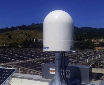 Il nuovo radar del LaMMa a Castiglion della Pescaia