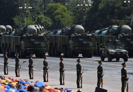 parata militare cinese