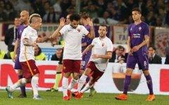 Fiorentina: un gol-gioiello di Salah (fischiatissimo eppoi espulso) spiana la strada alla Roma (1-2) ora capolista. Pagelle