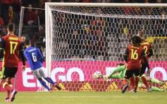 Italia kappaò contro un Belgio troppo forte: 3-1. Candreva illude, poi il crollo. Pagelle
