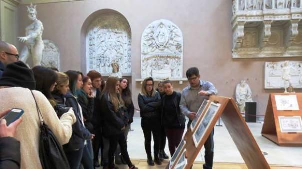 Firenze, studenti al liceo artistico di Porta Romana (foto dal Facebook dell'Istituto)