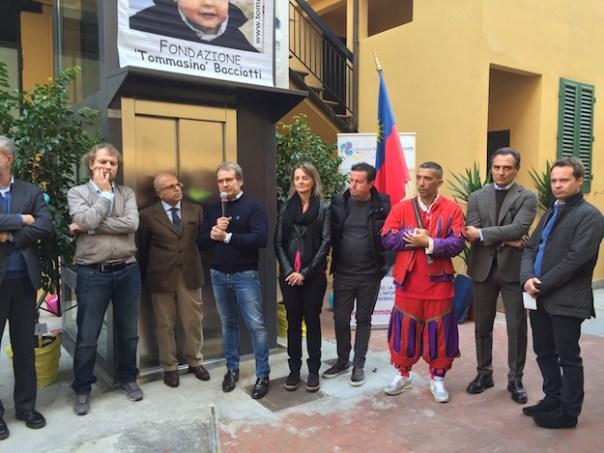 L'inaugurazione alla Fondazione Bacciotti