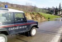 Fuoristrada dei Carabinieri