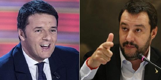 Renzi e Salvini