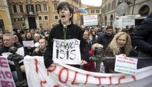 """Le vittime del """"salva-banche"""" protesteranno a Roma davanti alla Banca d'Italia"""