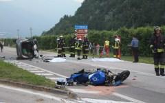 Incidenti stradali: cresce il numero di quelli mortali (1.587, +2,5%). Ben 471 i decessi di motociclisti