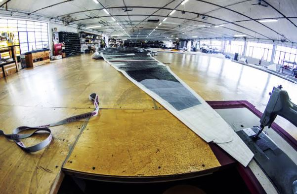 Nautica, la produzione di vele hi-tech alla Millennium di Firenze