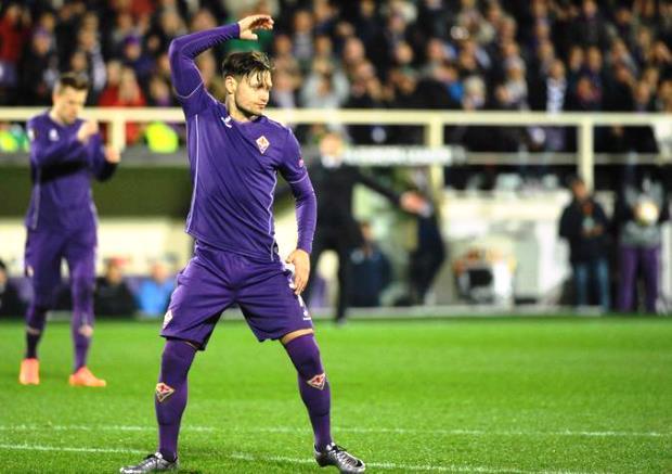 Fiorentina-Tottenham, Mauro Zarate