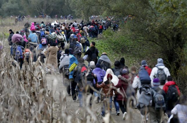 refugees balkan