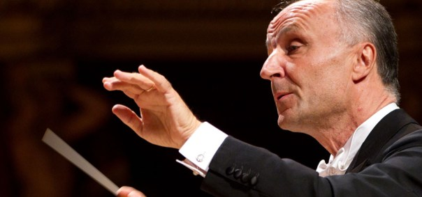 Il direttore d'Orchestra Oleg Caetani