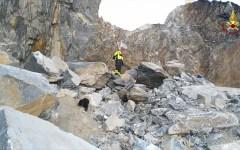 Massa Carrara: recuperati sulle Apuane i corpi dei due cavatori. Lutto e sciopero generale in tutta la provincia (video)