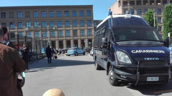 Palazzo giustizia tribunale Firenze carabinieri