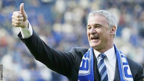 Claudio Ranieri, ex allenatore della Fiorentina, ora campione d'Inghilterra con il Leicester